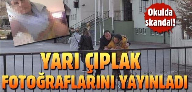 Eskişehir'de ilkokulda skandal!