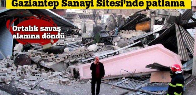 Gaziantep Sanayi Sitesi'nde patlama!