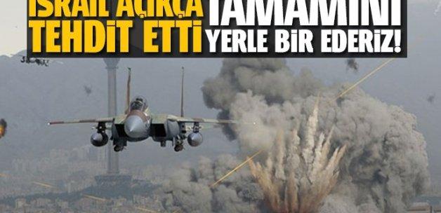 İsrail'den Suriye'ye tehdit: İmha ederiz
