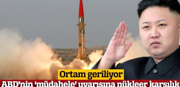 Kuzey Kore'den ABD'ye 'askeri müdahale' tepkisi: Kokmuyoruz