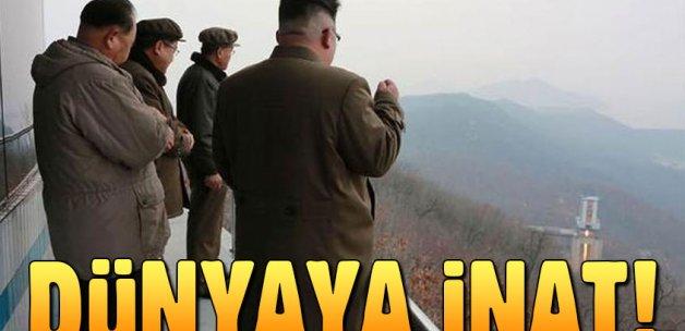 Kuzey Kore lideri Kim 'dünyaya inat' bunu da yaptı!