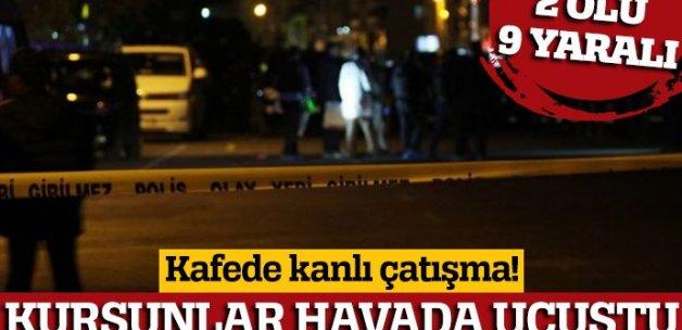 Malatya'da kafede silahlı kavga: 2 ölü, 9 yaralı (Malatya ölü sayısı)