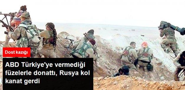 Rusya YPG'ye Kol Kanat Gerdi, ABD Stinger Füzeleriyle Donattı