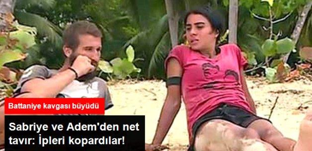Survivor'da Sabriye ve Adem Şahika İle İpleri Kopardı
