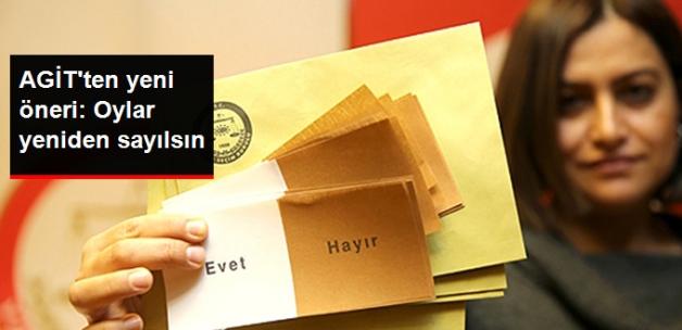 AGİT'ten Yeni Öneri: Oylar Yeniden Sayılsın