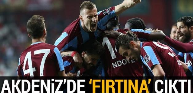 Antalyaspor 0-3 Trabzonspor