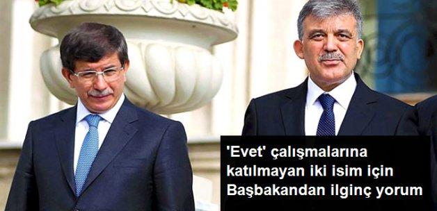 Başbakan Yıldırım'dan Davutoğlu ve Gül'ün Tavırlarına İlk Yorum