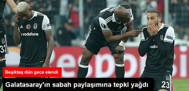 Beşiktaş Avrupa Ligi'nden Elendi, Galatasaray UEFA Kupası'nı Paylaştı