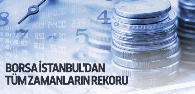 Borsa İstanbul'dan tüm zamanların rekoru