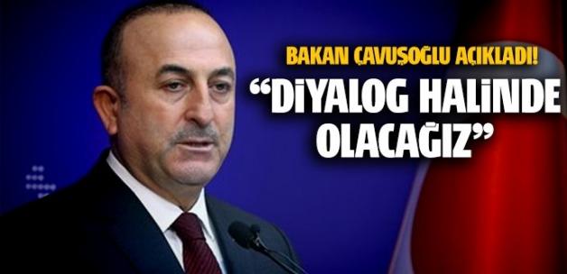 Çavuşoğlu: Türkiye ile işbirliği ve diyalog kararı çıktı