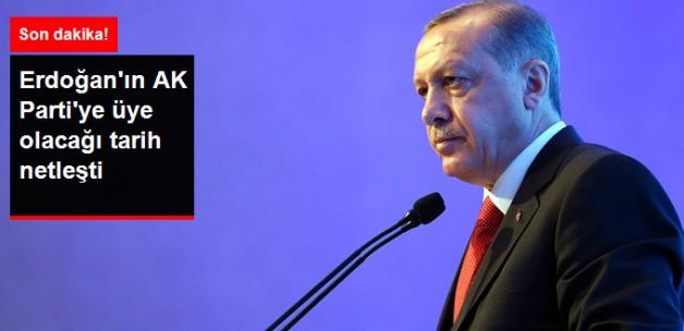 Cumhurbaşkanı Erdoğan, 2 Mayıs'ta AK Parti'ye Üye Olacak