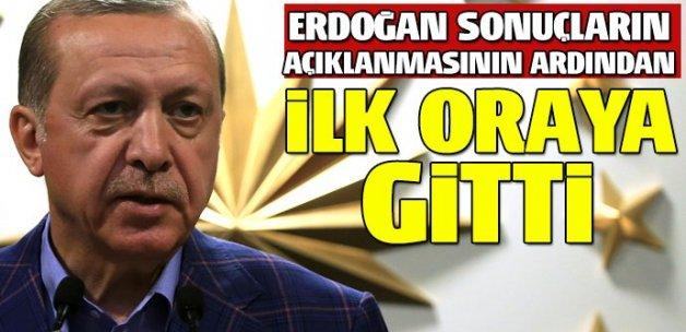 Erdoğan, Özal'ın kabrini ziyaret etti