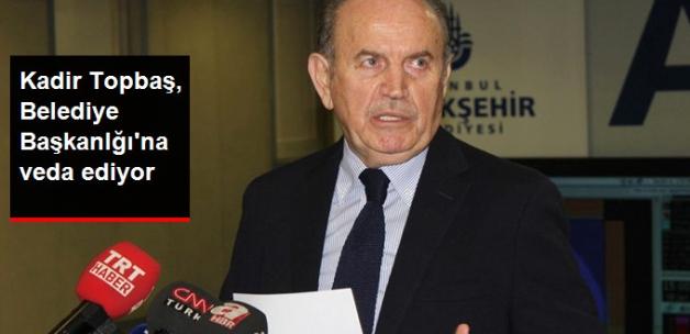 İBB Başkanı Kadir Topbaş Bir Daha Aday Olmayacağını Açıkladı