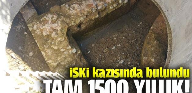 İSKİ kazısından 1500 yıllık kilise çıktı