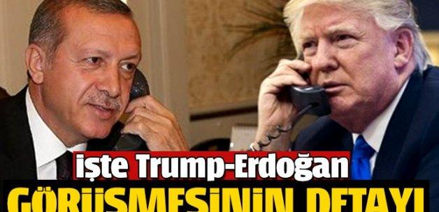 İşte Trump-Erdoğan görüşmesinin detayı