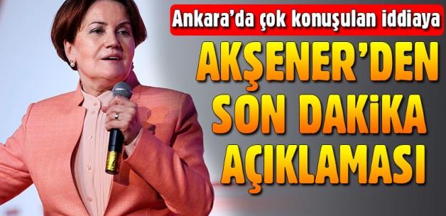 Meral Akşener'den 'parti kuruyor' iddialarına yanıt