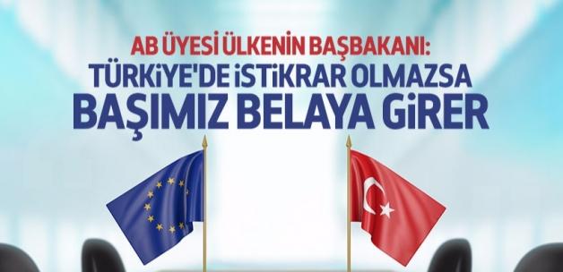 Orban: Türkiye'de istikrar olmazsa başımız belaya girer