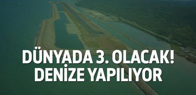 Rize-Artvin Havalimanı dünyada 3. olacak