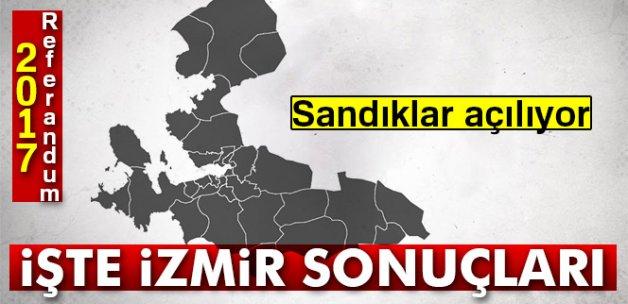 Son Dakika: İzmir referandum sonuçları 2017! İzmir oy sonuçları   Evet hayır oranı öğren