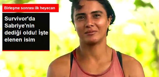 Survivor'da Haftanın Elenen İsmi Belli Oldu, Sabriye'nin Yüzü Güldü