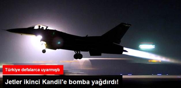 TSK'dan Sincar'a Hava Harekatı! PKK Hedefleri Tam İsabetle Vuruldu