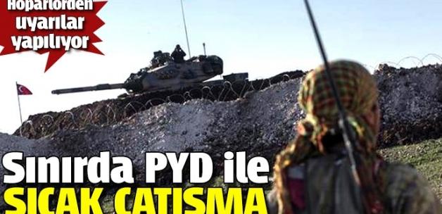 TSK sınır hattında YPG ile çatışıyor