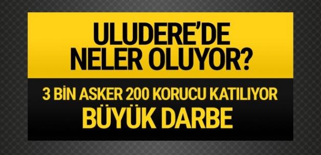 Uludere'de hareketli saatler PKK'ya büyük darbe
