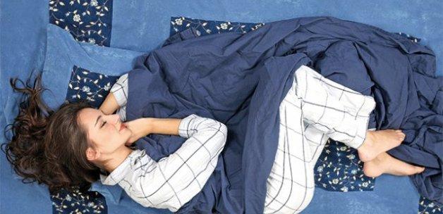Uyku pozisyonu hayatı zindan edebilir