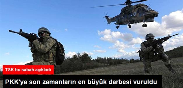 8 İlde PKK'ya Ağır Darbe! Son Bir Haftada 93 Terörist Öldürüldü