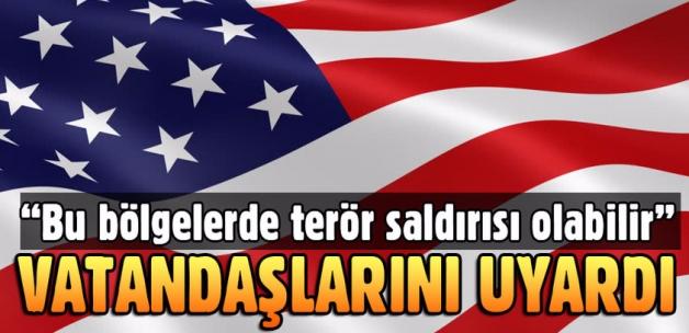 ABD'den Avrupa'ya seyahat uyarısı dikkat..