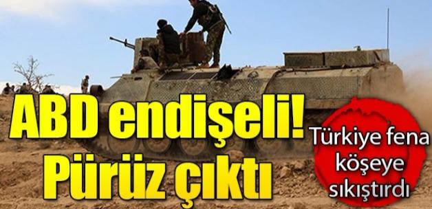 ABD endişeli! YPG hamlesinde pürüz