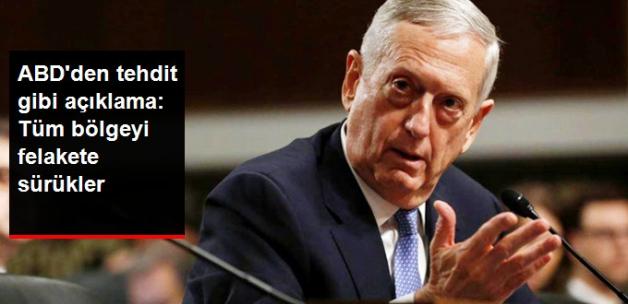 ABD'den Kuzey Kore Hakkında Tehdit Gibi Açıklama: En Büyük Felaket Olur