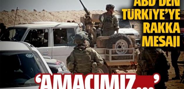 ABD Savunma Bakanı: Amacımız Rakka'yı almak için Türklerle birlikte çalışmak