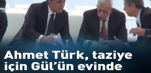 Ahmet Türk, Abdullah Gül'e taziyeye gitti