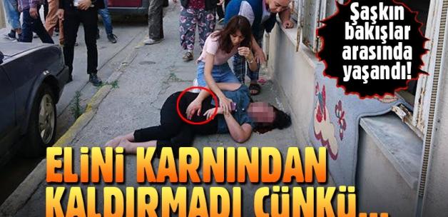 Aydın'da hamile kadın 3. kattan atladı