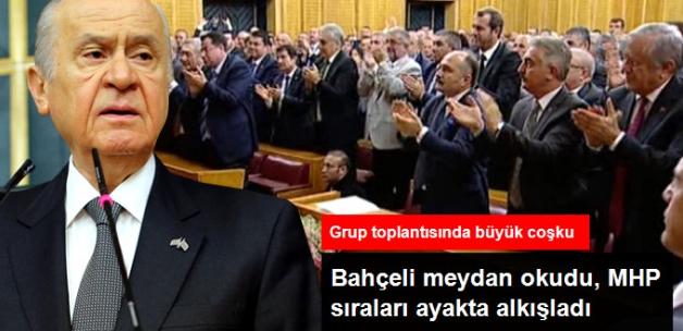 Bahçeli'nin Grup Toplantısındaki Sözleri Ayakta Alkışlandı: Türk Milleti Asla Düşmez