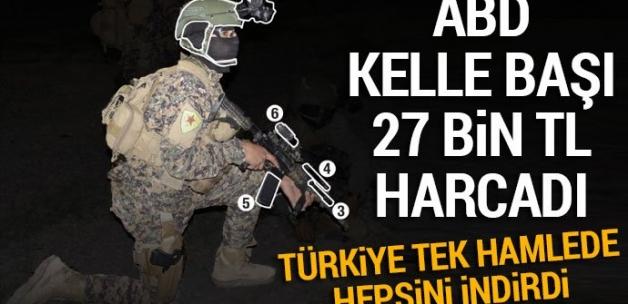 Bir YPG'li teröristin ABD'ye bedeli