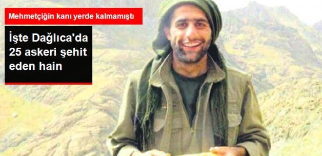 Dağlıca'da 25 Askeri Şehit Eden Teröristin Fotoğrafları Ortaya Çıktı
