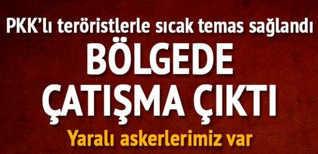 Diyarbakır Lice'de çatışma çıktı: 6 askerimiz ve 1 korucumuz yaralı