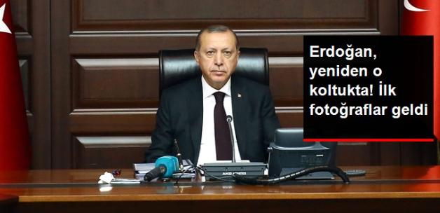 Erdoğan, Genel Başkan Sıfatıyla Yeniden MKYK Başkanlığı Koltuğunda