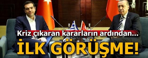 Erdoğan'ın Çipras'tan darbeci askerlerin iadesini istedi