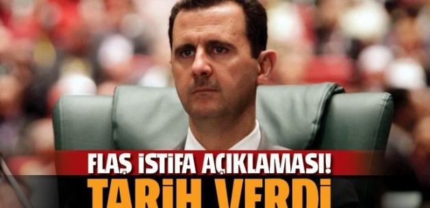 Esad'tan flaş istifa açıklaması!