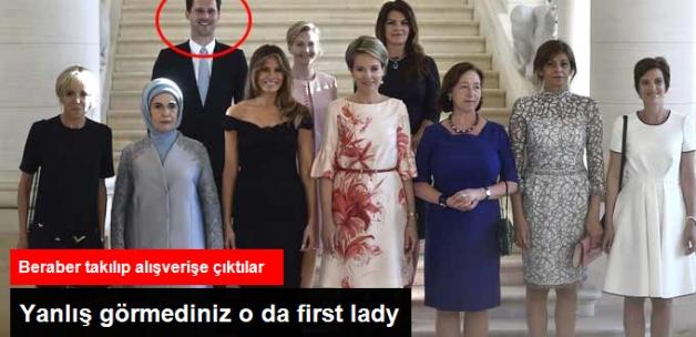 First Lady'lerin Arasındaki Tek Erkek