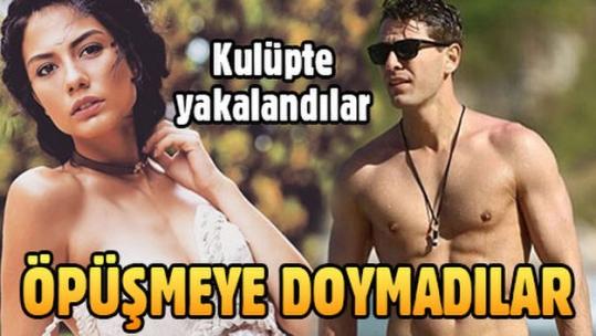 Furkan Palalı ve Demet Özdemir kulüpte yakalandılar