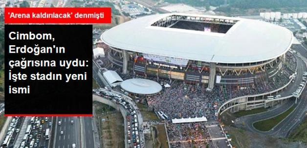 Galatasaray, Türk Telekom Arena'nın İsmini Değiştiriyor