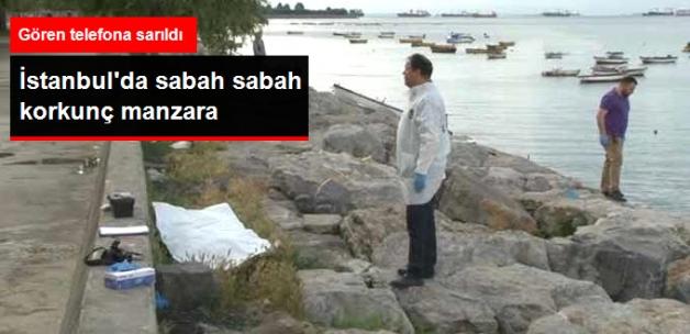 Kartal Sahilinde Erkek Cesedi Bulundu