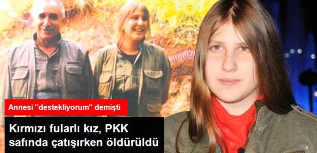 Kırmızı Fularlı PKK'lı Olarak Tanınan Ayşe Deniz Karacagil, Rakka'da Öldürüldü