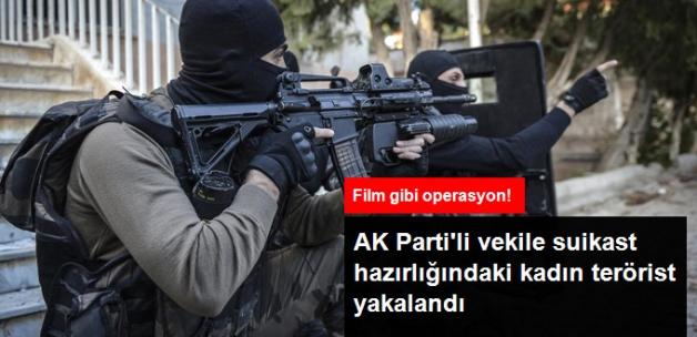 Kürt Siyasetçiler ve AK Partili Vekillere Suikast Planlayan PKK'lı Kadın Terörist Yakalandı