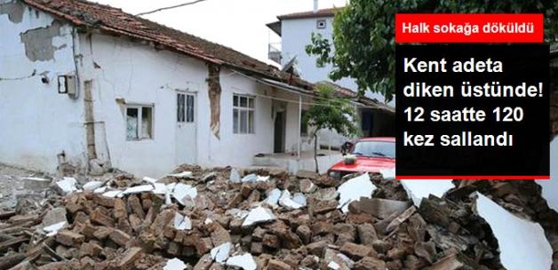 Manisa'da korkutan depremler