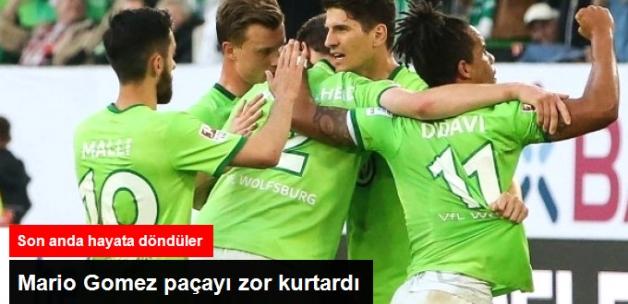 Mario Gomez'in Takımı Wolfsburg, Bundesliga'da Kalmayı Başardı